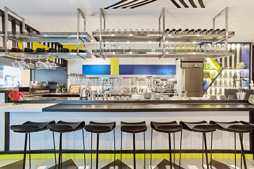 Ruang Makan oleh 安提阿設計有限公司, Modern