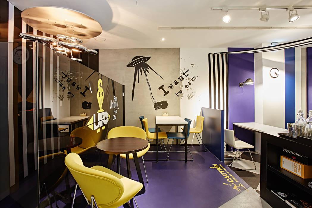 U . F . O    :  餐廳 by 安提阿設計有限公司,