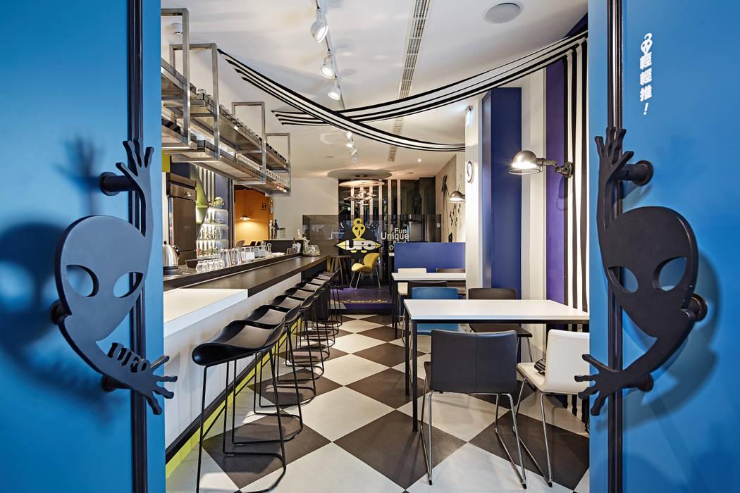 Ruang Makan Modern Oleh 安提阿設計有限公司 Modern