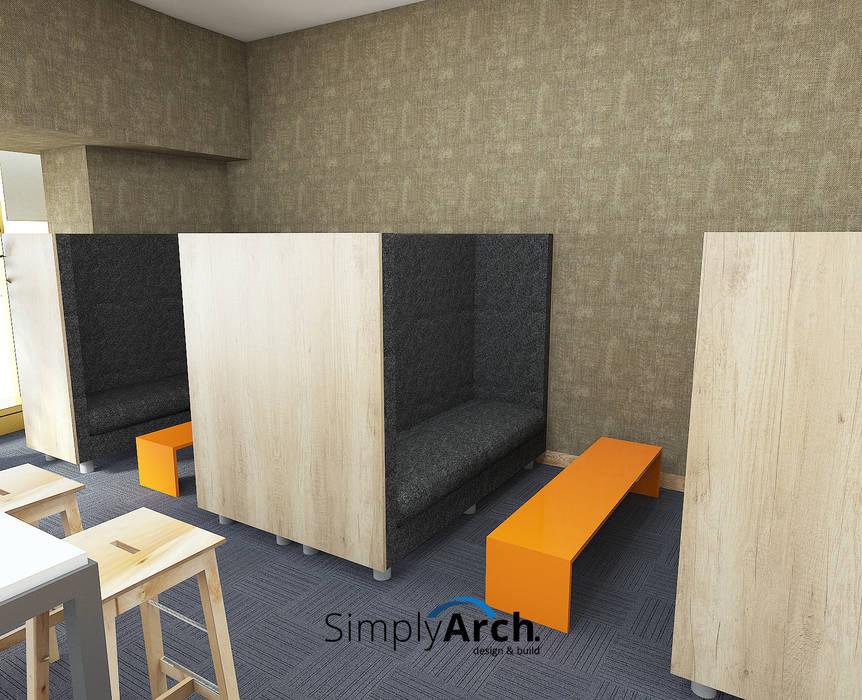 Leisure Space: Gedung perkantoran oleh Simply Arch., Modern