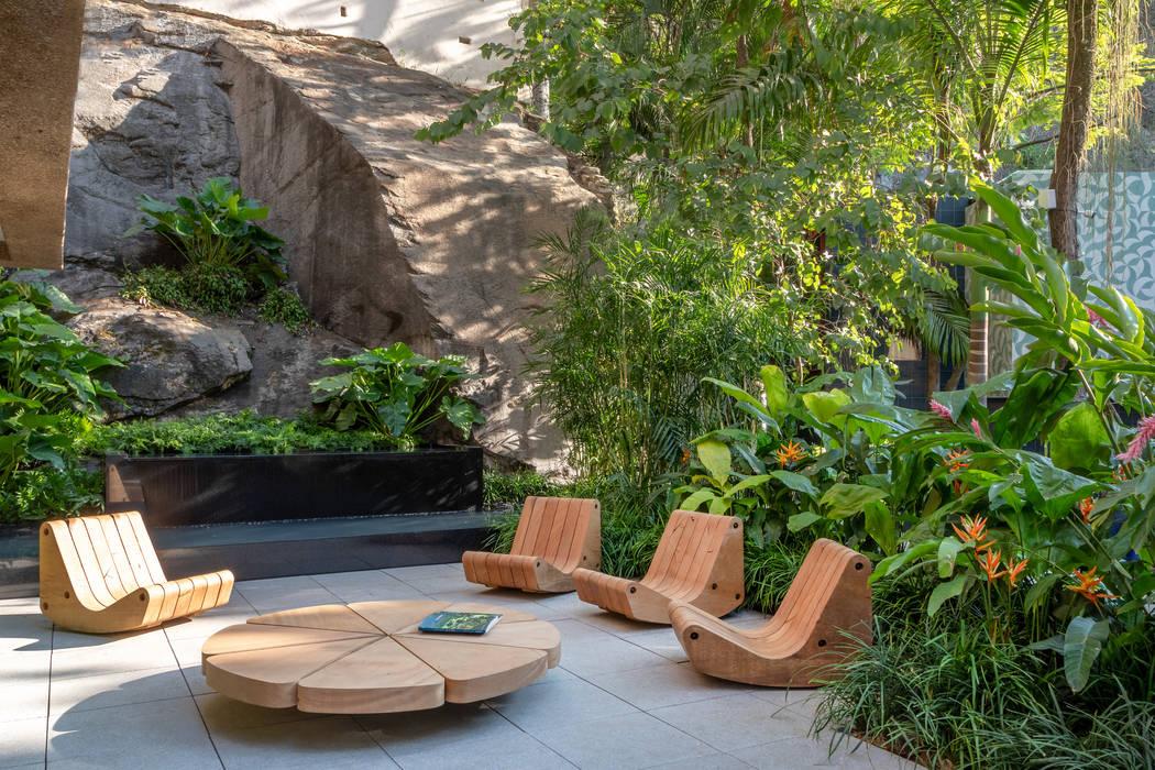 Vườn theo Gisele Taranto Arquitetura, Hiện đại