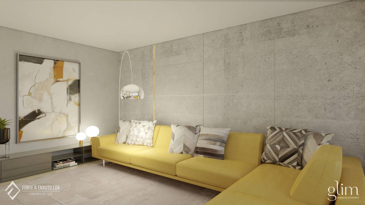 SOFÁ ELEGÂNTE E SOFISTICADO por Glim - Design de Interiores Clássico