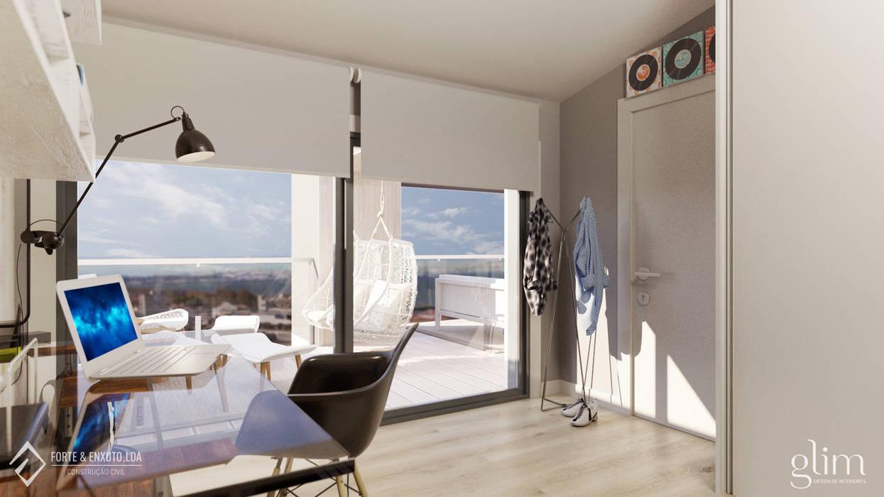 QUARTO DE RAPAZ por Glim - Design de Interiores Clássico