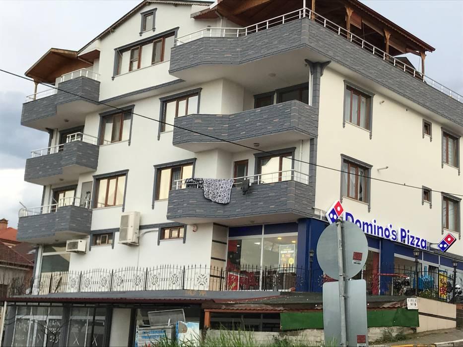 Halif yapı – Başiskele  Dış Cephe Tadilatı:  tarz Apartman