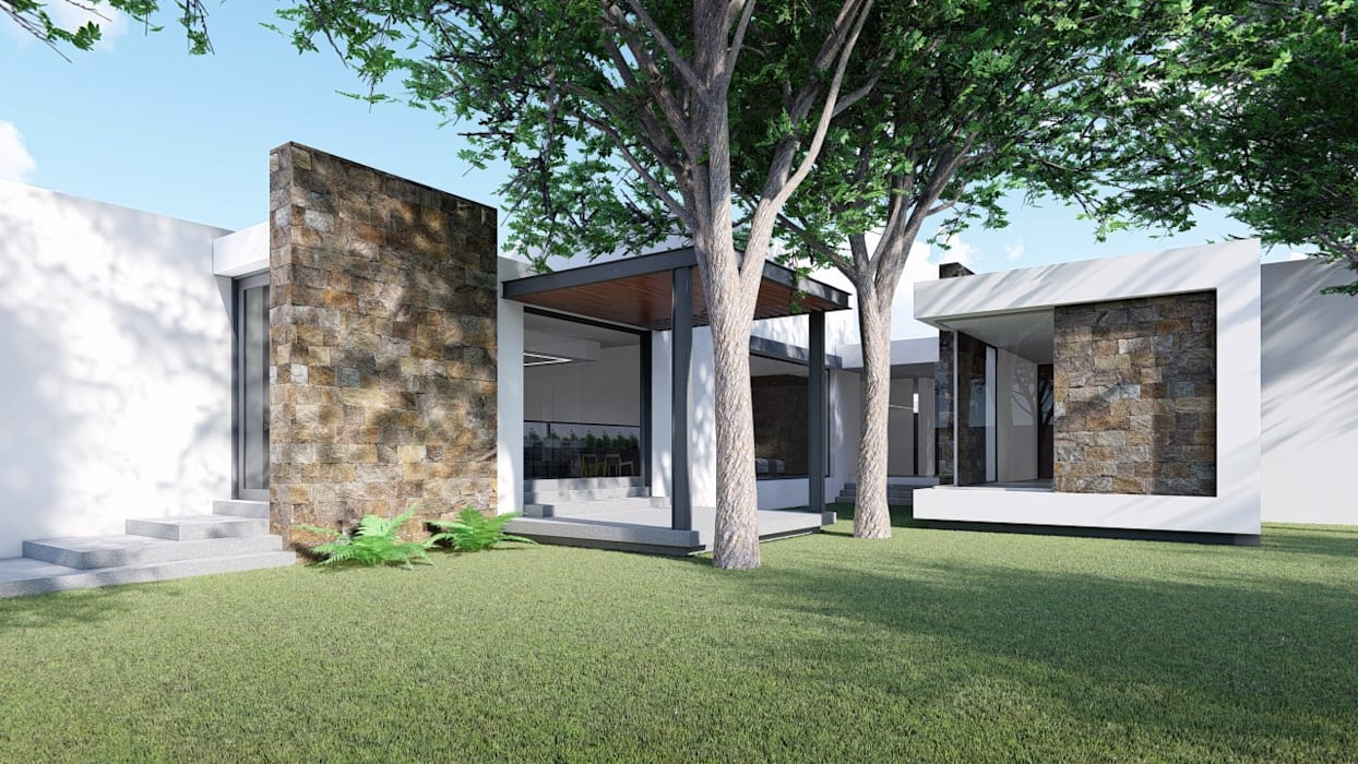 Modern windows & doors by GRUPO VOLTA Modern Stone