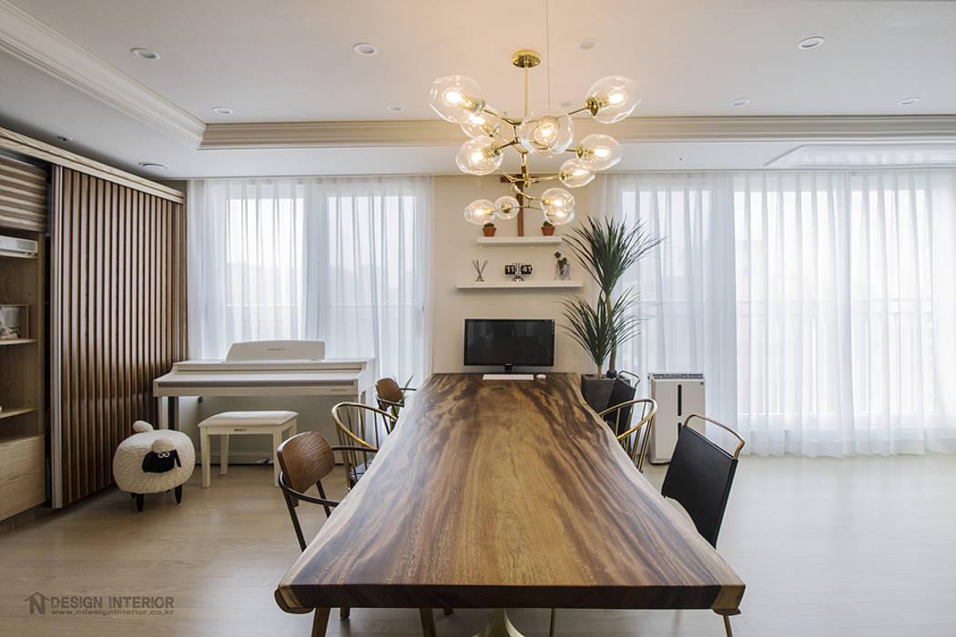 N디자인 인테리어 Modern living room