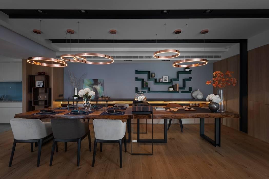 Dining room by 宸域空間設計有限公司, Modern