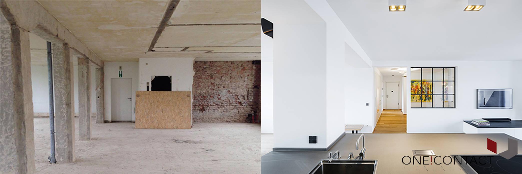 ทันสมัย  โดย ONE!CONTACT - Planungsbüro GmbH, โมเดิร์น