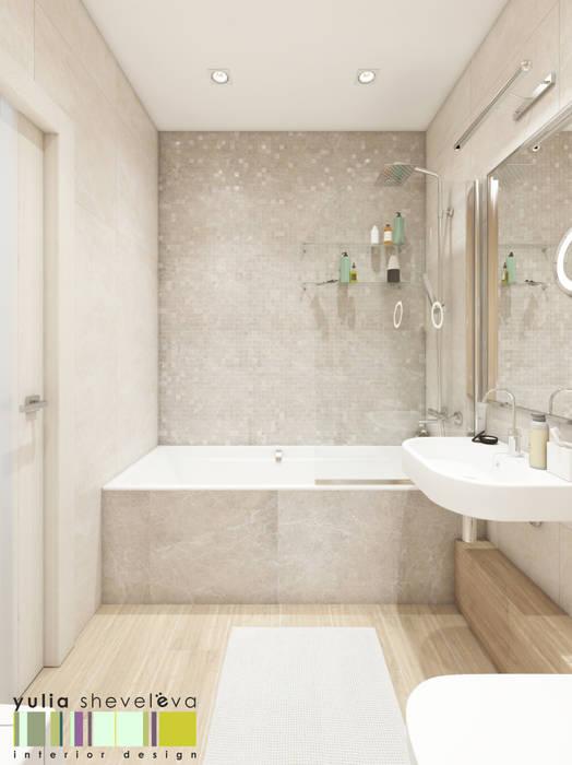 Мастерская интерьера Юлии Шевелевой Eclectic style bathroom