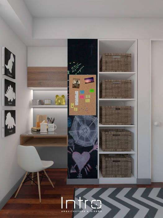 Diseño de dormitorio para niño: cuartos para niños de estilo ...