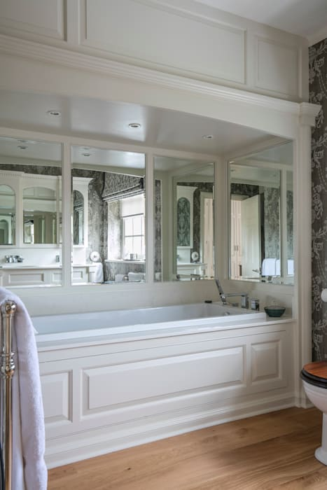 Master bedroom ensuite: bathroom by elizabeth bee interior design ...