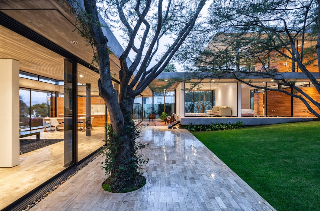 Tacuri House:  Single family home by Gabriel Rivera Arquitectos