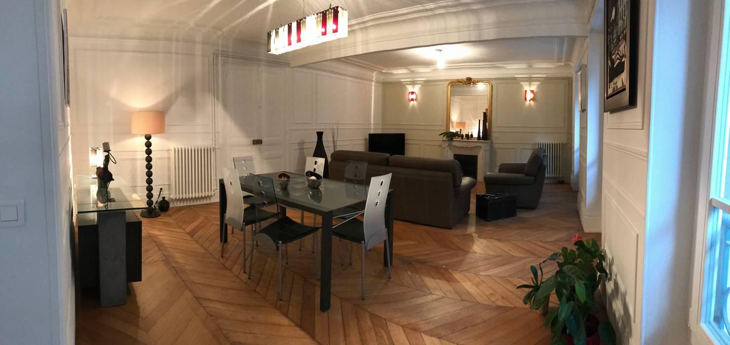 Salle A Manger Paris appartement - paris 5è - atelier florent salle à manger
