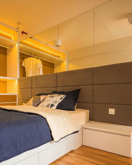Area Bedhead:  oleh FIANO INTERIOR, Minimalis