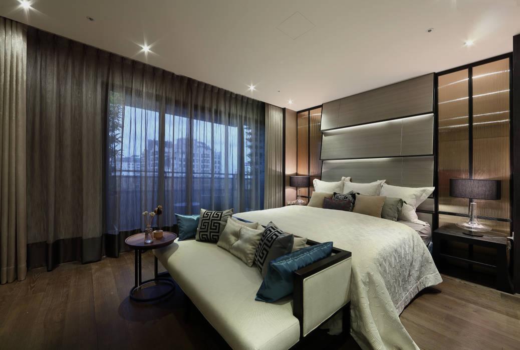 帝品苑 Modern style bedroom by 雅群空間設計 Modern