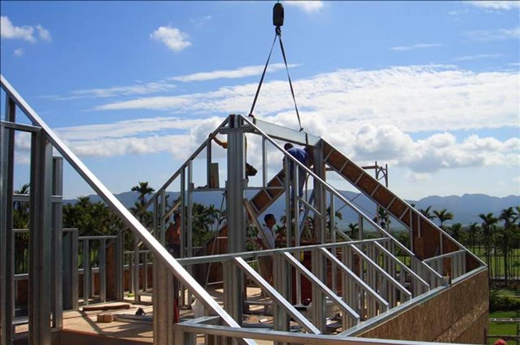 屋頂施工 根據 安居住宅有限公司 日式風、東方風