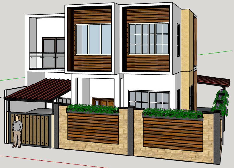 Box House Rempoa:   by Dekapolis Design