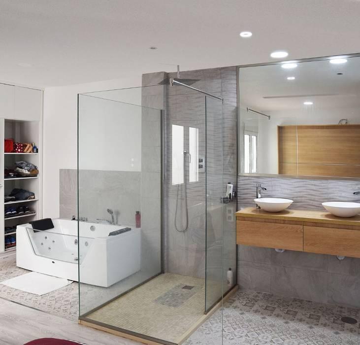baño suite: Baños de estilo  de SP_Arquitectura