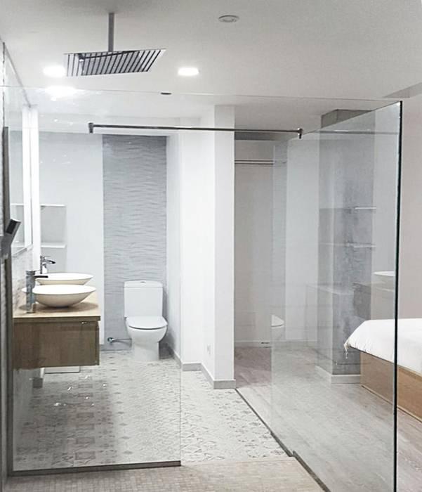 suite: Baños de estilo  de SP_Arquitectura