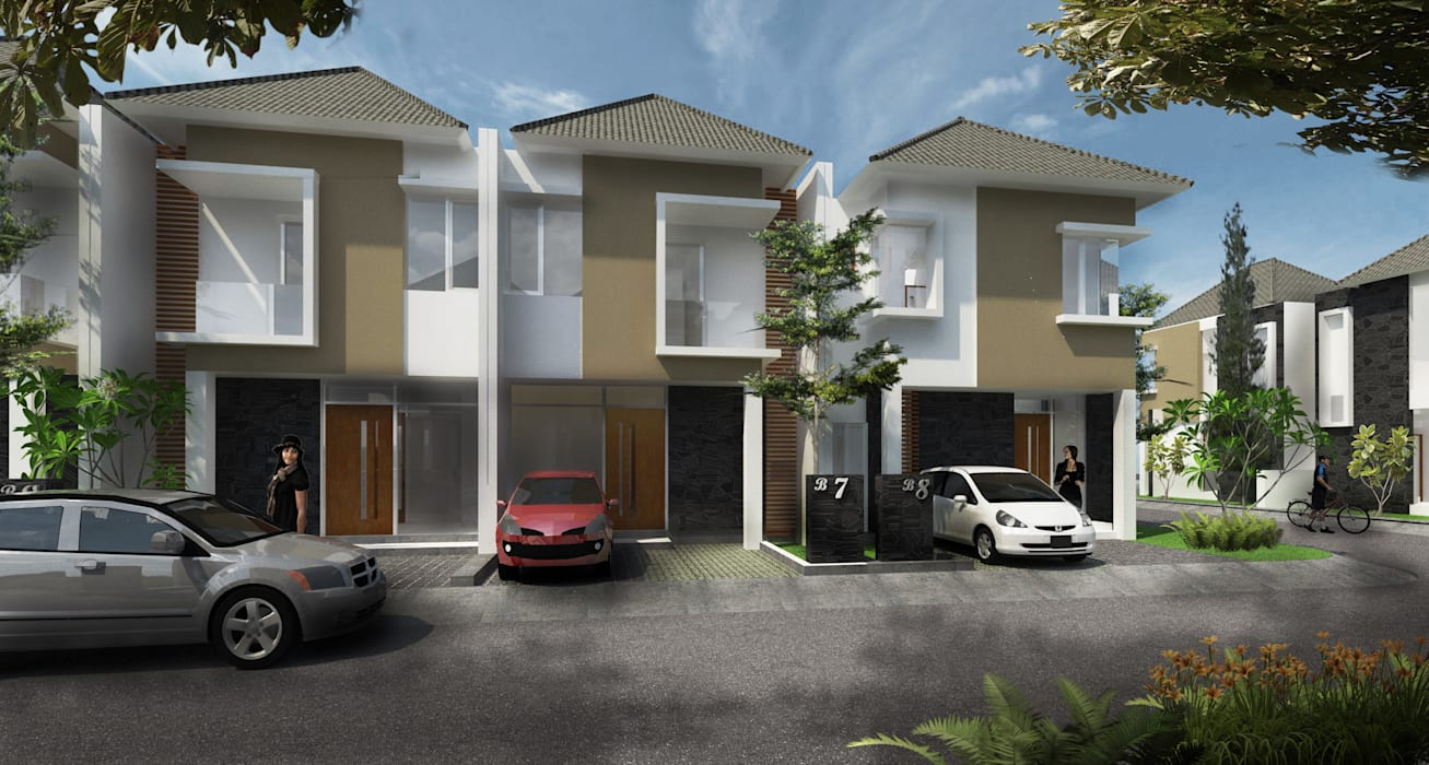 Andaru Residence:   by PT. DAA INTERPLAN INDONESIA