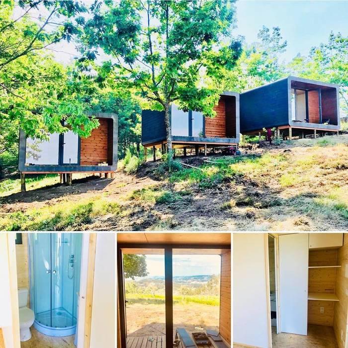 Ooty | Quinta do grande herdeiro @ Paredes: Casas pré-fabricadas  por Black Oak Company group|( Ooty. )( Timberman )( Growing ),Moderno