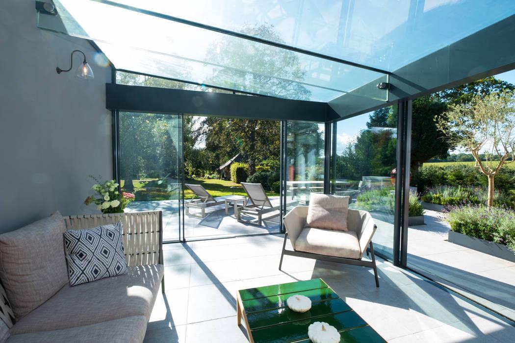 Basement windows by IQ Glass UK