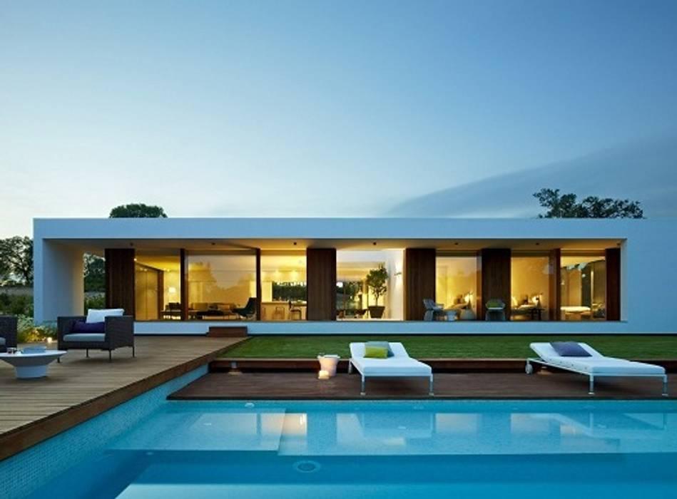 บ้านสำเร็จรูป โดย casasfrau, เมดิเตอร์เรเนียน ไม้ Wood effect