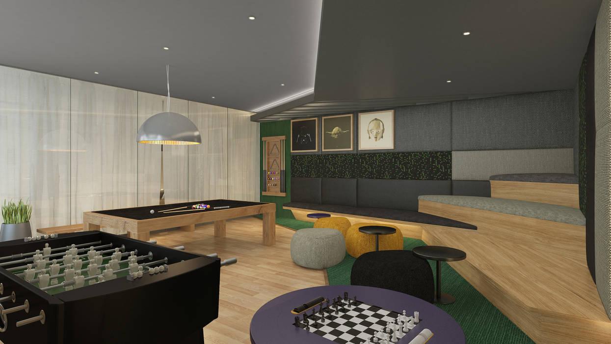 Co-Working K'ANKA Salas multimedia de estilo moderno