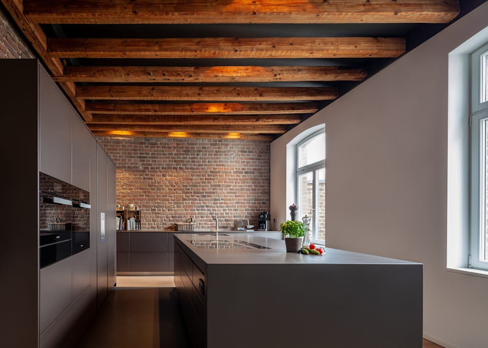 Wohnhaus Köln, Pfannes & Virnich Moderne Küchen von Sebastian Hopp PHOTOGRAPHY Modern