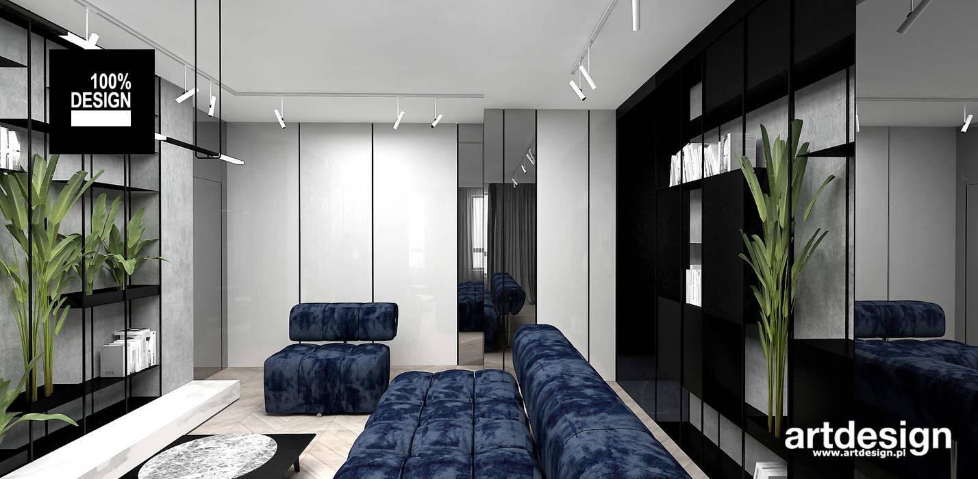 Aranzacja Pokoju Dziennego Styl W Kategorii Salon Zaprojektowany