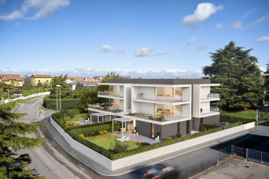 RESIDENZE LP: Condominio in stile  di studio conte architetti