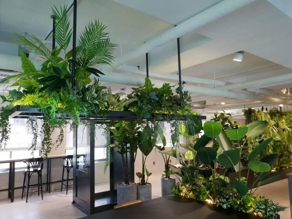 Office buildings by (주)더숲, Modern