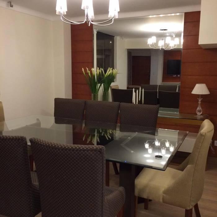 Modern Dining Room by DISTINTA DESIGN Modern