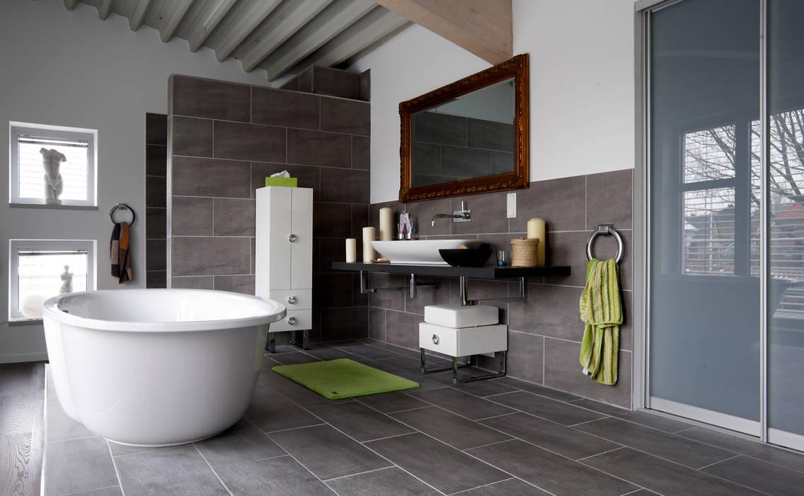 Privat Haus Herford Moysig Retail Design Gmbh Moderne Badezimmer Homify