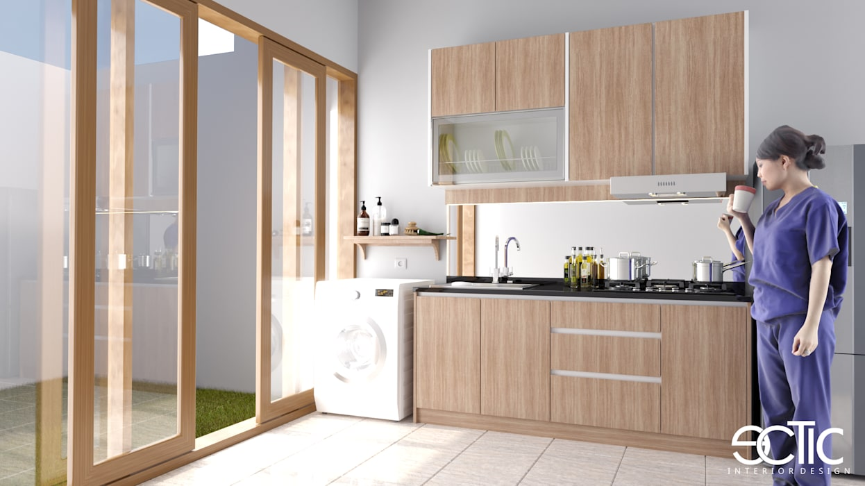 Kitchen units by Ectic, Modern