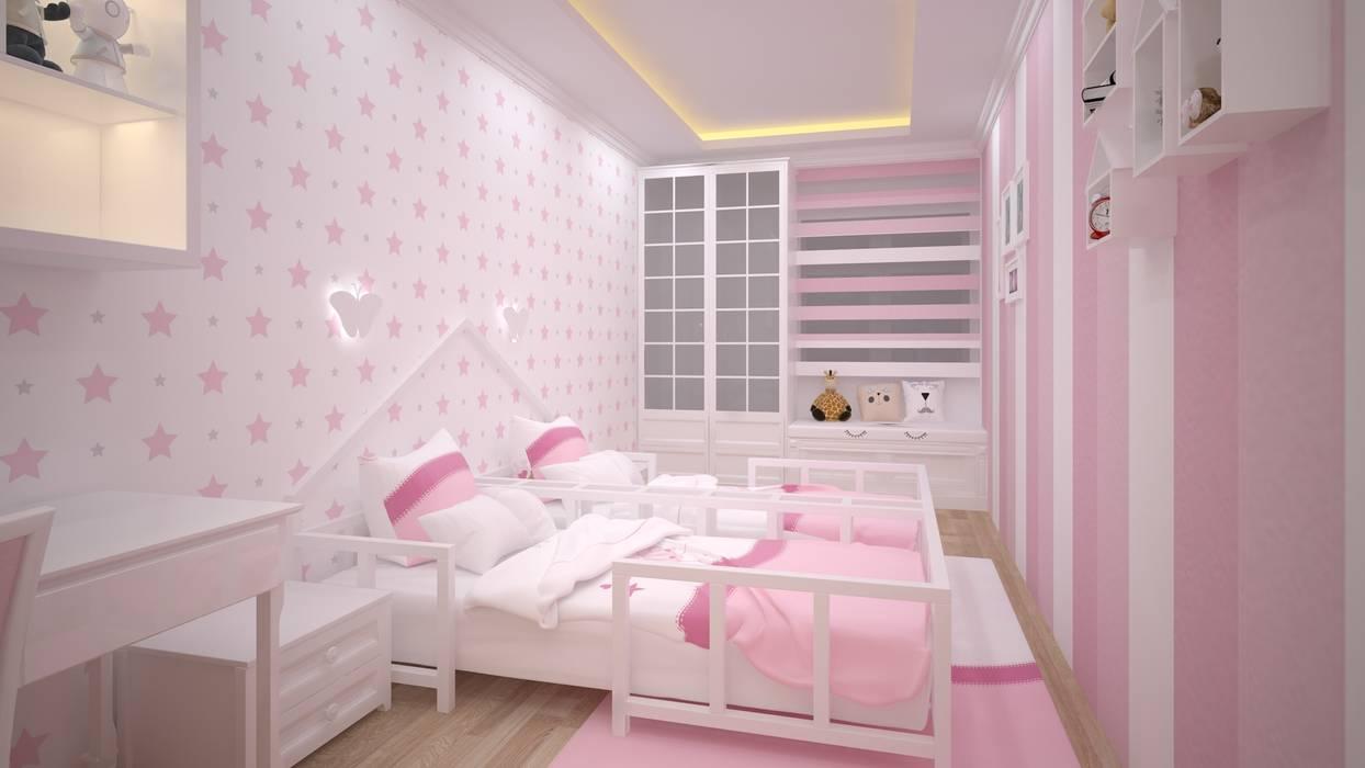 Dormitorios infantiles de estilo  de VOGUE MİMARLIK ATÖLYESİ