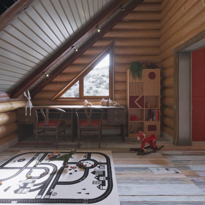Dormitorios infantiles de estilo  de Частный дизайнер и декоратор Девятайкина Софья