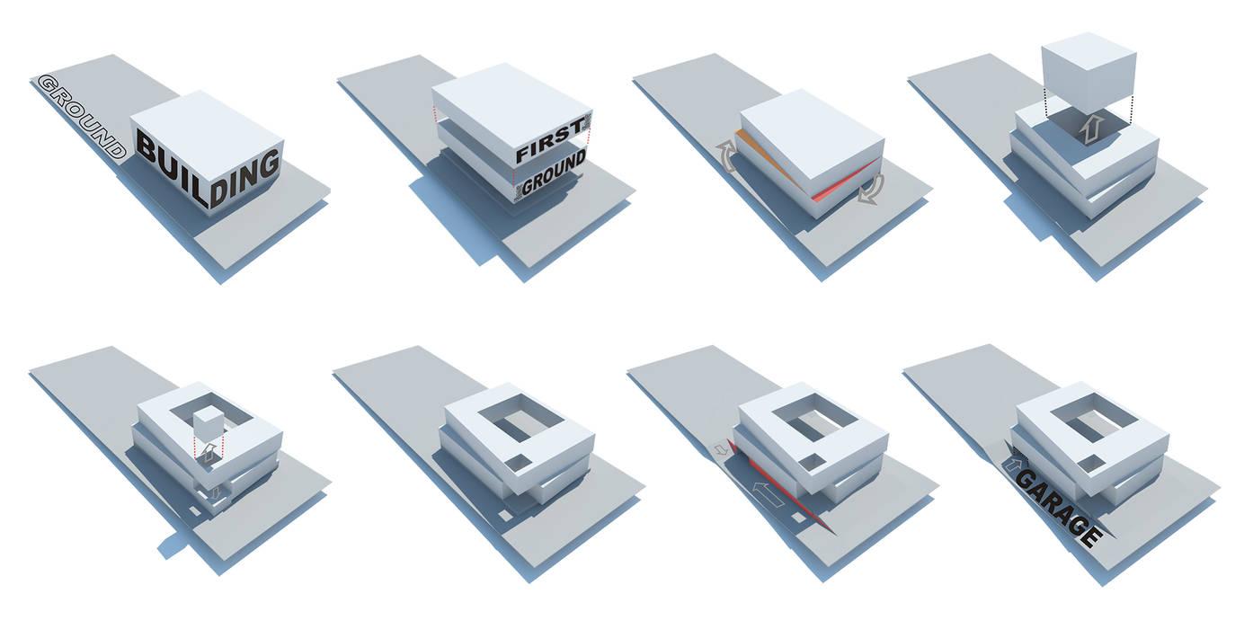 Rr+a bureau de arquitectos - La Plata Passive house Iron/Steel White