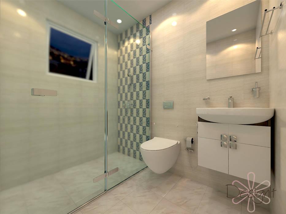 Bathroom Design Modern bathroom by DESIGNIT Modern Tiles