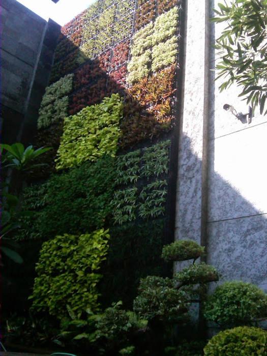 Taman Vertikal Untuk Outdoor:  Hotels by Tukang Taman Surabaya - flamboyanasri