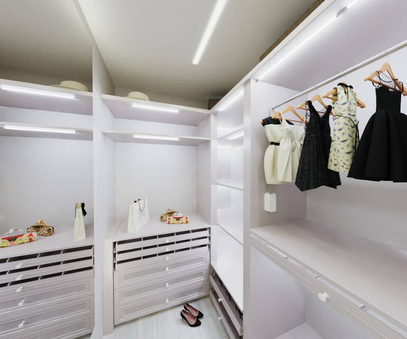Closets de estilo  por дизайн-студия PandaDom, Moderno