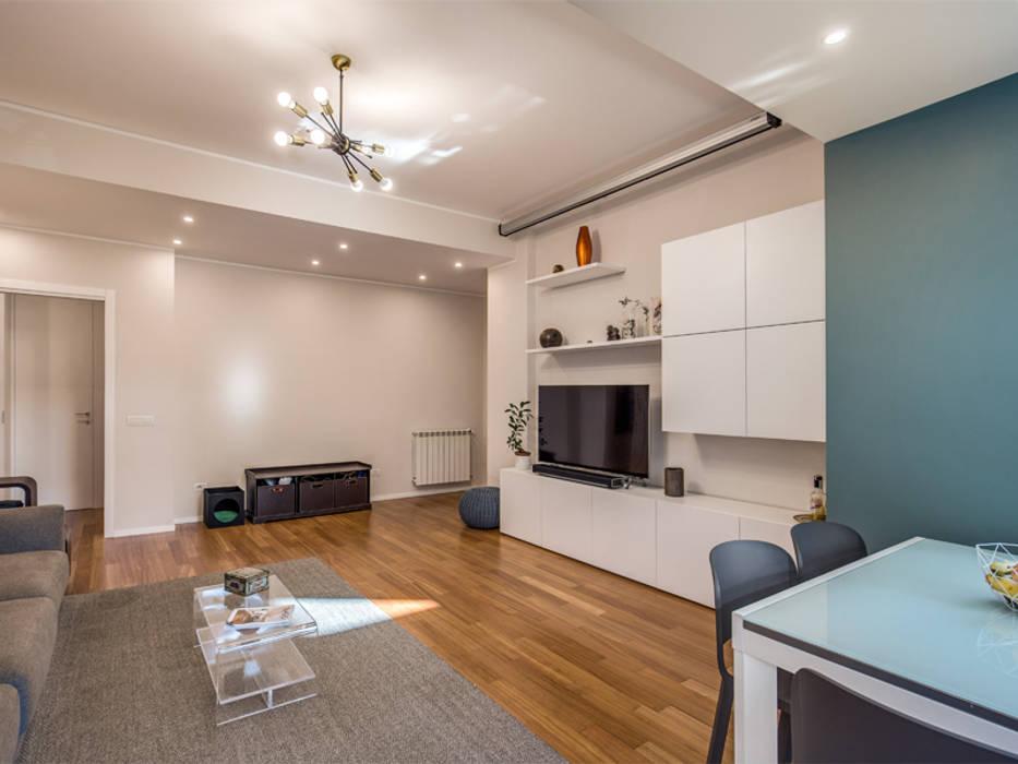 Moderne Wohnzimmer von MOB ARCHITECTS Modern