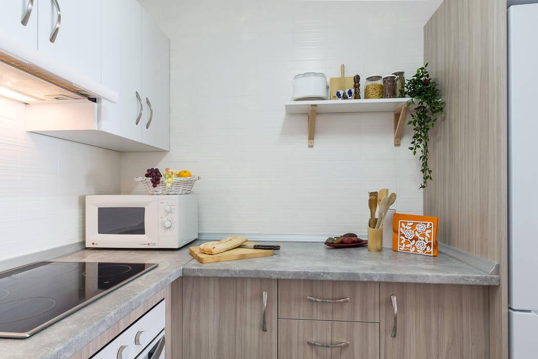 مطابخ صغيرة تنفيذ Home & Haus | Home Staging & Fotografía