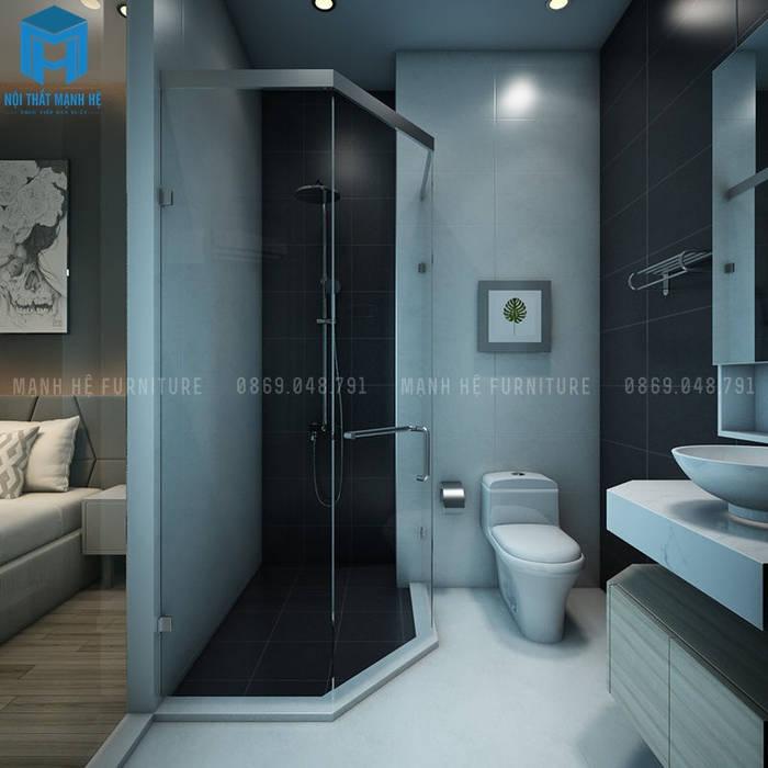 Nội thất nhà tắm đẹp, sang chảnh Phòng tắm phong cách hiện đại bởi Công ty TNHH Nội Thất Mạnh Hệ Hiện đại