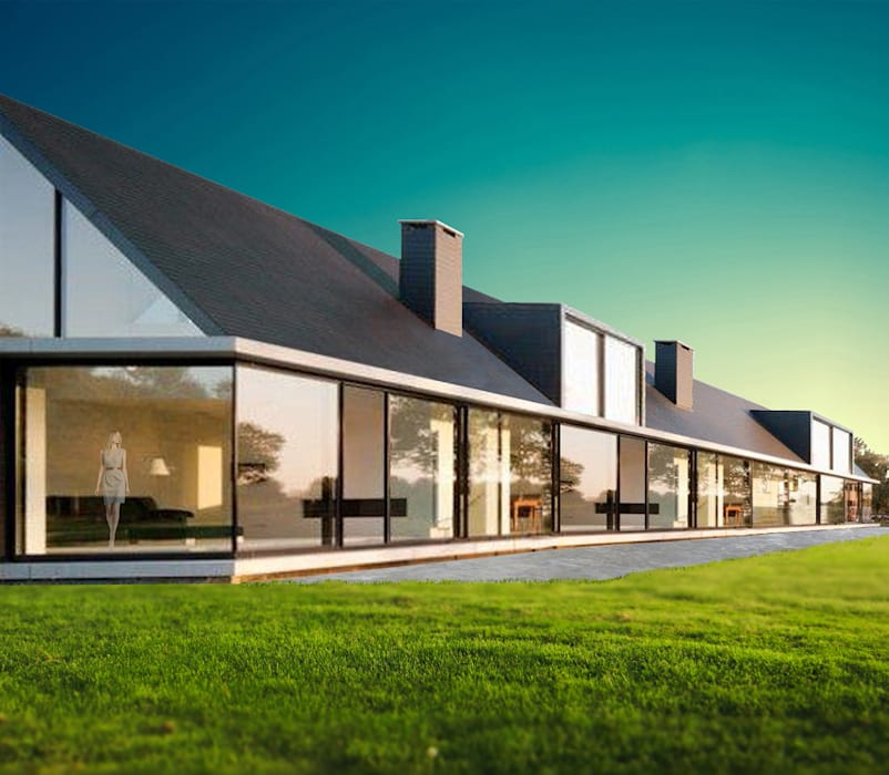 Featured Projects by Socrates Architects, Jersey, Channel Islands by Socrates Architects Modern