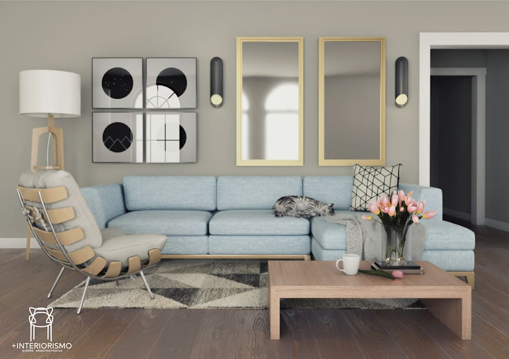 Modern living room by Más Interorismo Modern