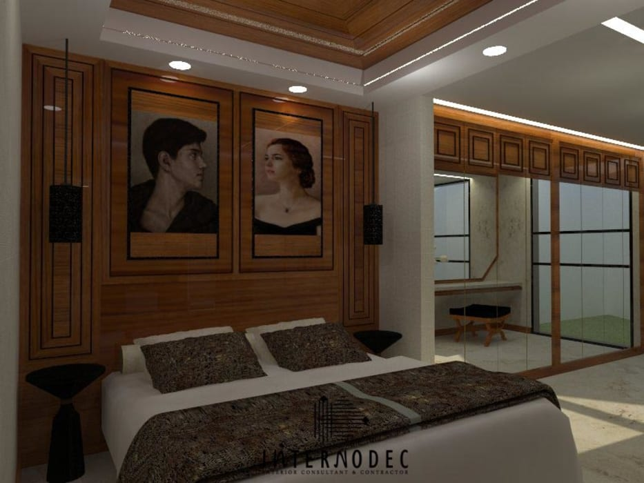 Kamar Utama:  Kamar Tidur by Internodec