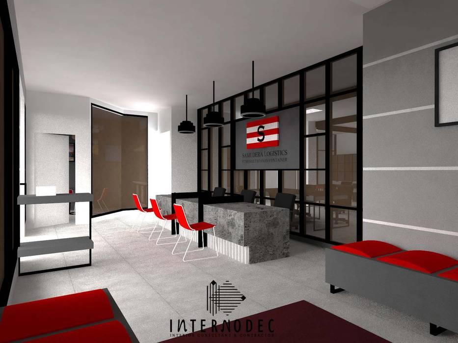 Office PT. MTC: Kantor & toko oleh Internodec, Modern