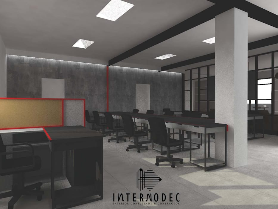Offices & stores by Internodec, Modern