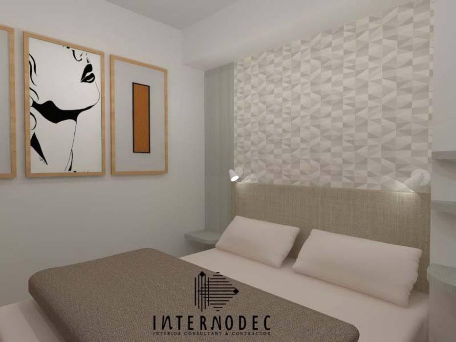 Minimalis Apartment Mrs. LK : Kamar tidur anak oleh Internodec,